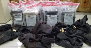 Decomisan 21 paquetes de cocaína en un buque procedente de Colombia