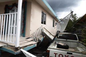 PUERTO RICO: Familia dominicana perdió vivienda durante terremotos