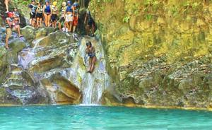 Saltos de la Damajagua registra record de visitantes en el 2019