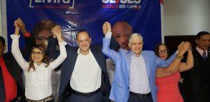 Candidato PRM a la Alcaldía dice devolverá el esplendor a Santiago