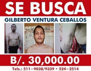 Panamá ofrece 30 mil dólares por información de dominicano fugado