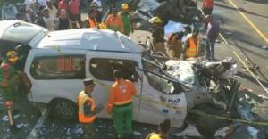 BONAO: Estable dentro de gravedad superviviente accidente de tránsito