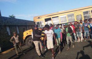 Migración de R. Dom. dice deportó 1,561 haitianos indocumentados