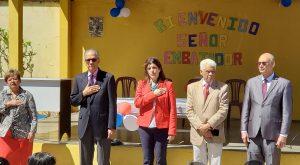 GUATEMALA: Embajada de la Rep. Dominicana hace donativo a escuela