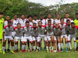 Selección de fútbol sub-20 enfrenta Anguila en Premundial de la Concacaf