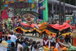 A ritmo de merengue y música urbana comienzan carnavales en RD