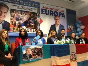 ESPAÑA: PRM juramenta en Madrid estructuras femenina y de juventud