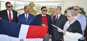 MIAMI: Dominicanos conmemoran el 207 aniversario natalicio de Duarte
