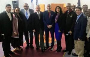 Aquino recibe apoyo de capellanes y pastores internacionales