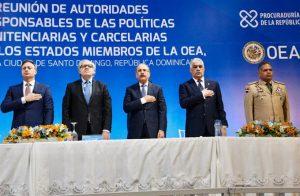 Danilo Medina encabeza la IV reunión autoridades penitenciaras de región
