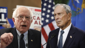 Sanders y Bloomberg encabezan las encuestas para las primarias en NY