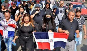Marchan hasta la Junta para exigir elecciones limpias y democráticas