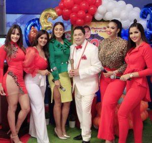 Frederick Martínez celebra en grande su 30 aniversario en la televisión