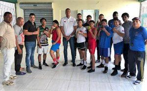Presentan púgiles de Santiago para la Copa Independencia de Boxeo