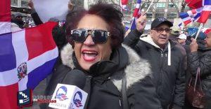 Detractores y defensores del PLD se enfrentan en una calle de Nueva York