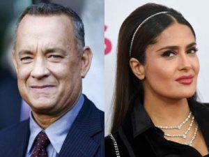 Tom Hanks y Salma Hayek serán presentadores de los premios Oscar
