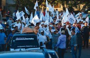 Serulle reinicia campaña a Alcaldía este martes en mercado La Placita