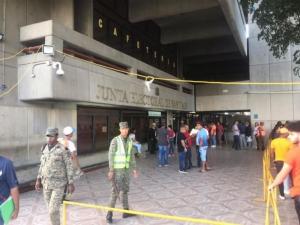 Junta Electoral afirma montaje comicios marcha bien en Santiago