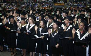 UTESA gradúa mil 55 nuevos profesionales en diferentes áreas