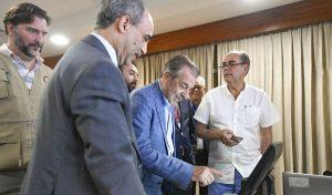 JCE presenta a observadores de la  OEA modelo de voto automatizado