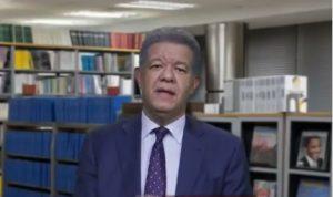 Leonel admite posibilidad de aplazar comicios del próximo 17 de mayo