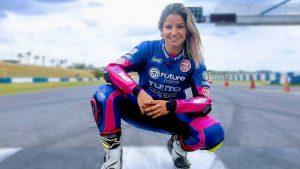 BRASIL: Muere la piloto dominicana Indiana Muñoz en carrera SuperBike