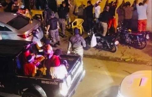 Policía detiene a más de 2,400 personas violaron novena noche toque de queda