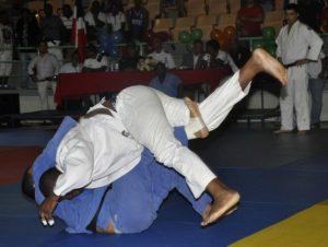 Torneo de judo de los Juegos Militares y Policiales