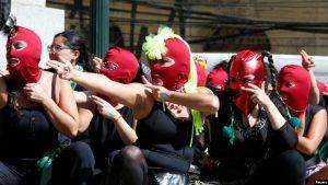 Masivas marchas en Latinoamérica por el Día Internacional de la Mujer