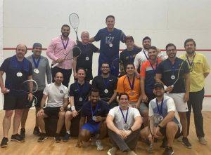 Grecia Berrido y Melvin Rivera campeones Torneo de Squash 2020