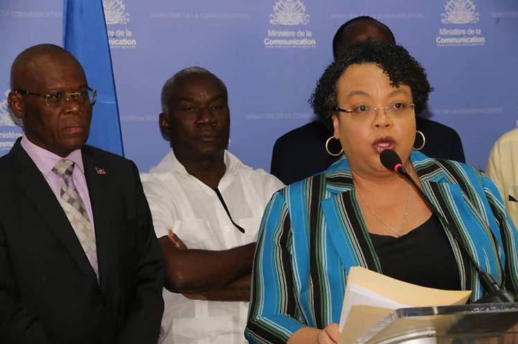 Haití abre centro de información permanente sobre Covid-19