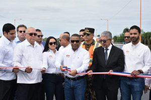 MOPC entrega tramo 2B Circunvalación SD y carretera Navarrete-PP