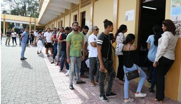 7 millones 487 mil 40 dominicanos están llamados a votar de nuevo hoy