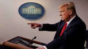 """EEUU: Presidente Trump declara la guerra al """"virus chino"""""""