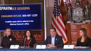 Nueva York declaró el estado de emergencia por el coronavirus