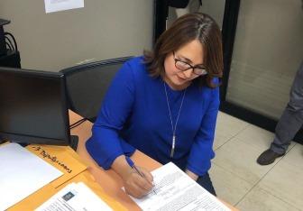 Emelyn Baldera va como candidata a diputada en el DN por el PRD