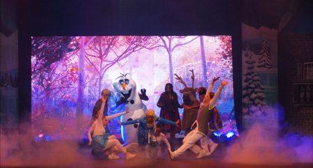 """Espectáculo """"Fantasías Congeladas"""" en Centro Olímpico de ciudad SD"""