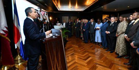 QATAR: Embajada Rep. Dominicana conmemora Día Independencia