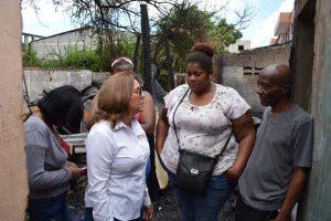 SDE: Plan Social da primera respuesta a familias afectadas por incendio