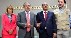Misión OEA felicita dominicanos por comportamiento durante elecciones