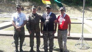 FARD y PN acaparan honores en el torneo de tiro Juegos Militares
