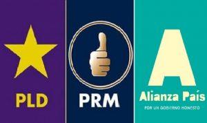 PLD, PRM  y Alianza País suspenden actos públicos por coronavirus