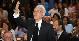 Muere a los 101 años expresidente de la Suprema Corte M. Bergés Chupani