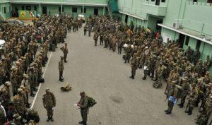 Tres batallones y una compañía del  Ejército RD harán cumplir medidas