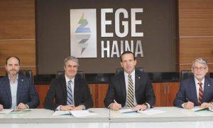 Falcondo y EGE Haina firman contrato de compra y venta energía renovable
