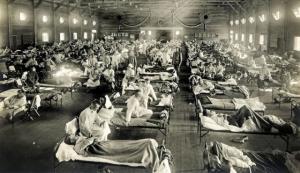 En 1918 hubo otra sensible epidemia mundial de gripe