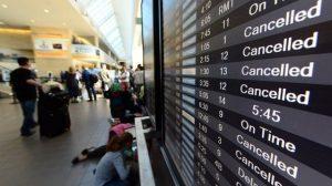 EU: Aerolíneas y el gobierno federal contemplan suspender los vuelos