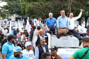 Abinader vaticina triunfo Ulises Rodríguez como alcalde de Santiago