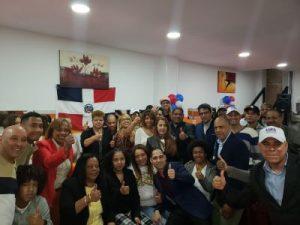 ESPAÑA: El PRM juramenta un comando de campaña en Bilbao