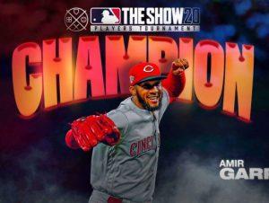 Amir Garrett se corona en torneo 'MLB The Show'